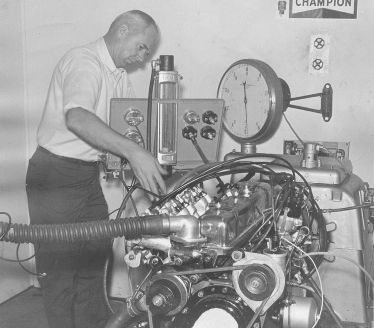 Dyno testing the TR-250 engine